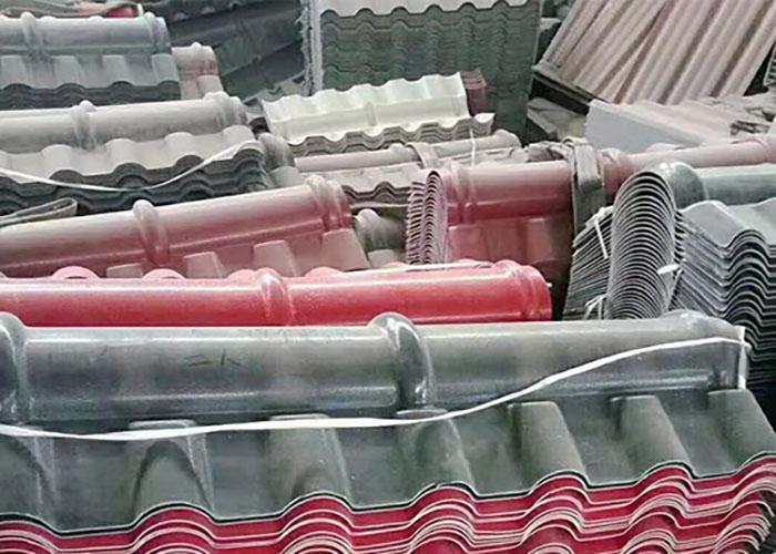 asa樹脂合成瓦施工 樹脂合成瓦施工 龍鼎新彩鋼樹脂瓦價格