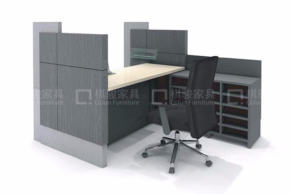 非現金櫃員台工行銀行辦公家具廠家專業定制