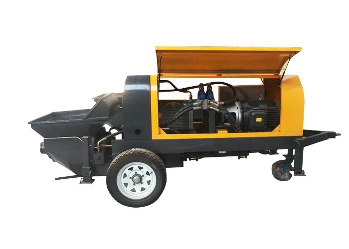 派德機械混凝土泵圖片 河北細石混凝土輸送泵