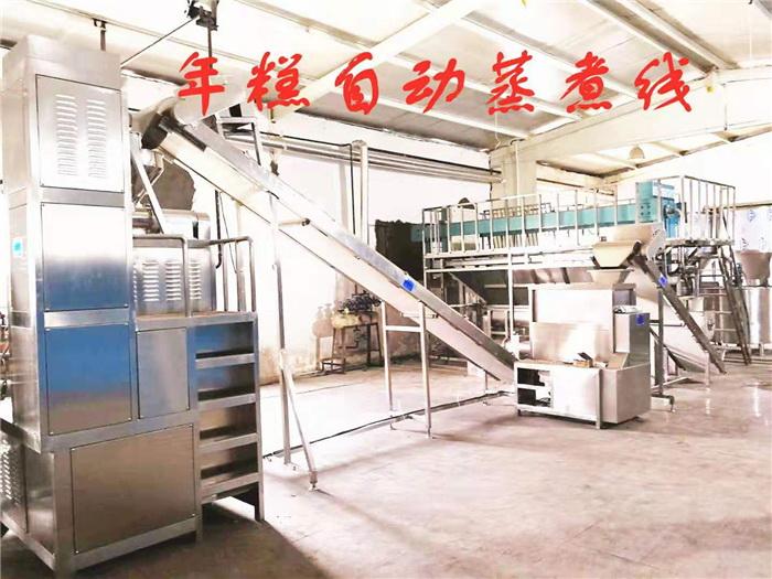 年糕機生產線 聯豐年糕設備生產線 雅安年糕生產線