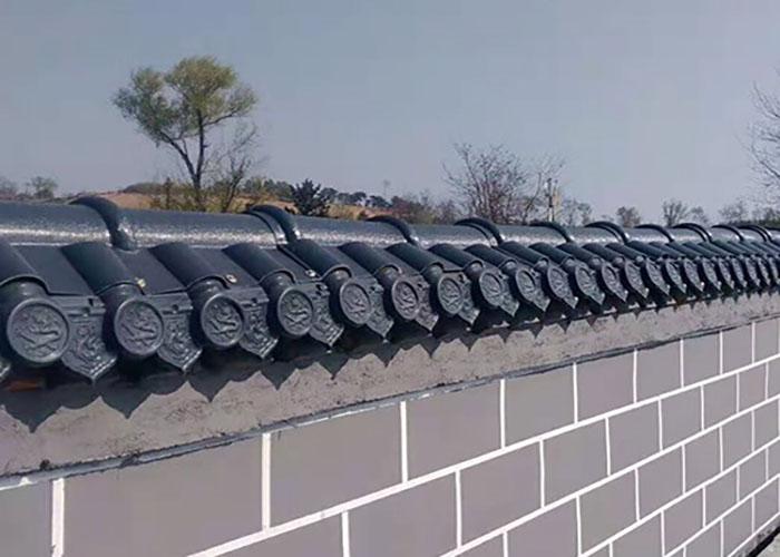 龍鼎新彩鋼樹脂瓦工程 琉璃樹脂合成瓦廠家 高平琉璃樹脂合成瓦